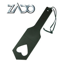 Mini paletta per sculacciare BDSM Fetish Zado Spanking Leather Heartpaddle