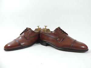 Church's Mens Shoes Oxford Cap Toe Cardinals UK 8 F US 9 EU 42 Tan Calf Uppers