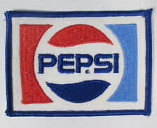 Pepsi Soda Pop Patch Medium Size 3 3/4 by 2 3/4 vtg New Old Stock NOS
