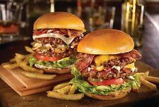 Burgers eBook/Cookbook on CD Free Shipping