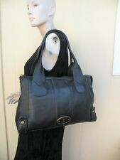 FOSSIL LEATHER VINTAGE REISSUE TOTE SHOULDER BAG PURSE
