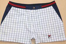 RARE FILA ANNI'80 VINTAGE Bjorn Borg Settanta MK1 Tennis Pantaloni corti, BJ, taglia: Medium