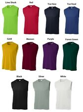 Dry Zone Competitor Moisture Wicking Performance Mens S-4XL Sleeveless T-shirts