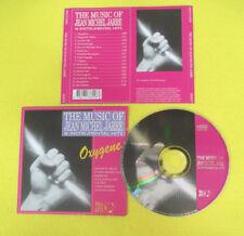 CD THE MUSIC OF JEAN MICHEL JARRE 1994 Europe ELAP 3802CD no mc dvd vhs (CS64)