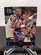 1993-94 SkyBox O'Neal vs Ewing Showdown Series NBA Basketball card Shaq NM