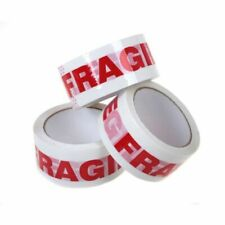 1-6-12-24-48 Rolls Fragile Handle With Care Carton Sealing Packing Tape 3x110