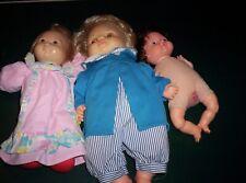 Set of 3 Fisher-Price Dolls (1973-1980-1981)