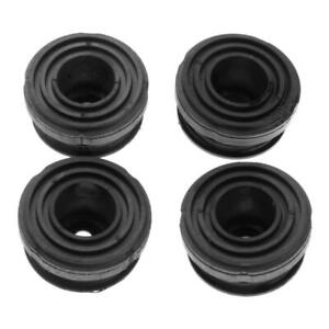 4pcs/Set Lower Rubber Foot Pads #68325-Z07-003 Feet Mounting Nut Bolts for Honda
