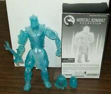 "MORTAL KOMBAT DECEPTION COLD SNAP CLEAR SUB ZERO 6"" Mint in vf/nm box #smay15"