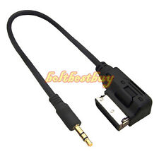 Music Interface AMI MMI AUX USB Cable Cord 3.5mm Mini for Audi A4 A5 A6 A7 A8 Q7