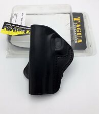 1911 Full Size   Tagua PD3R-201 OWB Paddle Open Top Rotating Holster Black LH