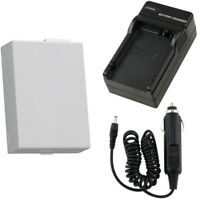 High Capacity Rechargeable LP-E8 Battery + Charger Kit for Canon T5i T4i T3i T2i