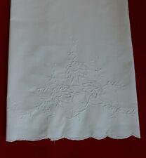 Asciugamano in cotone 100% bianco - con ricamo