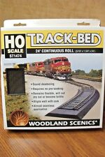 WOODLAND SCENICS HO TRACK-BED 5mm x 24ft ROLL / 2 EACH