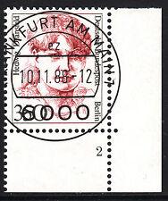 32) Berlin 350 Pf Frauen 828 FN 2 Formnummer Ecke 4 EST FFM mit Gummi RAR!