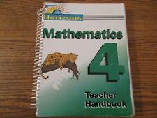 Horizons Math 4 Teacher Handbook