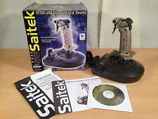 Saitek ST200 Joystick J20S Flight Gaming Controller Stick USB Windows Mac Boxed