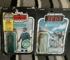 Vintage Star Wars carded Figures At-At Commander Bespin security guard esb rotj