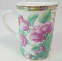 Mayfair and Jackson Floral Roses Fine Bone China Coffee Mug