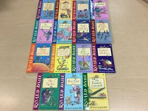 15 x Roald Dahl Paperback Books: The Twits, Matilda, The BFG, The Witches +