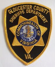 Gloucester County Virginia Sheriff's Office Cloth Patch