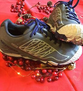 Merrell Women's AllOut Terra Ice Waterproof Grey Trail Running Shoe 9M/EU 40