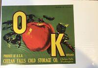 APPLE Crate LABELS COLOR GUARD Wholesale Lot of 100 Old Vintage Washington