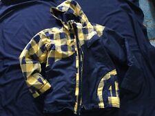 Nomis Snowboard Jacket Black Yellow Plaid XL