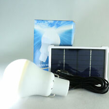 15W 150LM Portable Solar Energy Panel Lighting System Camping Bulbs Lamp SM