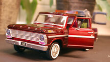1969 Ford F 100 Pickup WRECKER Dépanneuse 1:24 Motor Max 75430ac