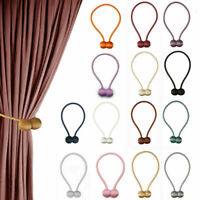 2019 Ball Magnetic Curtain Buckle Holder Tieback Clips Home Window Accessories