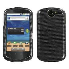 For U8800 Impulse 4G Carbon Fiber Hard Snap Phone Protector Cover Case