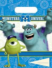 Monster University 6 x Party bags (Loot bags)