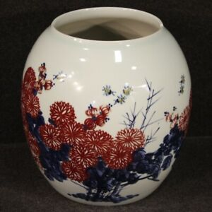 Vase Chinese Eastern Antique Style Furniture Item Bowl IN Ceramic Painted