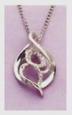 Solid Sterling Silver Pendant Blank~Great for Custom Work! (20.6mm)