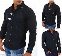 Camicia Uomo Maniche Lunghe THE GARDENER Gruppo Einstein Shirt A553 Tg M/L L/XL
