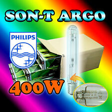 2x PHILIPS Son-T Agro 400w HPS Grow light for Professional Hydroponic Growers