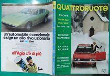 f# QUATTRORUOTE 1971,SALONE TOKIO,ALFA 1300 SUPER,AMI 8,BMW R75,WANKEL,A.GORDINI