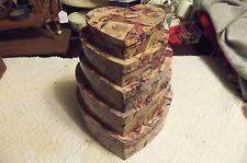 Wonderful Nesting Heart Shaped Treasure Boxs - Set of 5