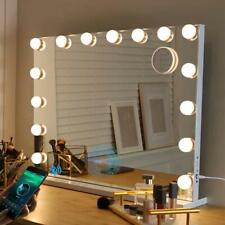 Fenchilin Bluetooth Hollywood Vanity Mirror with Lights Led Lighted White