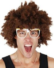 Redfoo Afro Brown Wig One Size