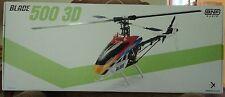 BLADE 500 3D BNF BLH1850 NIB RC HELICOPTER CARBON FIBER FRAME BRUSHLESS MOTOR
