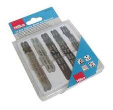 10 Pc Conjunto de hoja de Jigsaw bayoneta plástico Cuchillas Acero Madera Corte De Metales 75/100mm
