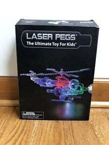 Laser Pegs Toy Set Helicopter Model 1270 The Ultimate toy for kids
