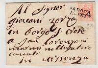 STORIA POSTALE - 1851 LOMBARDO VENETO C.15 ROSA II° TIPO PADOVA 15/9 E/5887