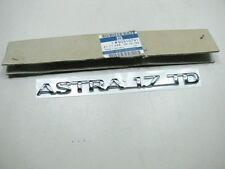 ORIGINAL OPEL Astra F  ASTRA 1.7 TD Schriftzug 90510791 NEU