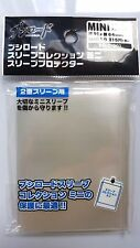 Bushiroad Mini Oversleeve CLEAR Small Character Card Over Sleeve Protector Guard