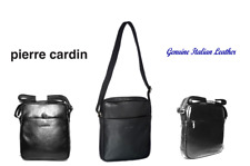 PIERRE CARDIN - Genuine Italian Leather - Shoulder Bag - Cross Body Bag -PC10968