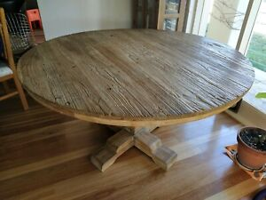 Unique french provincial round dining table