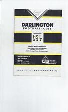 Darlington Non-League Home Teams C-E Football Programmes